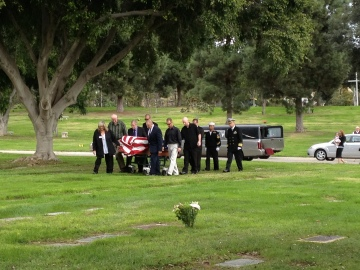 Funeral of Commander James F. Trawick (USN Ret.)